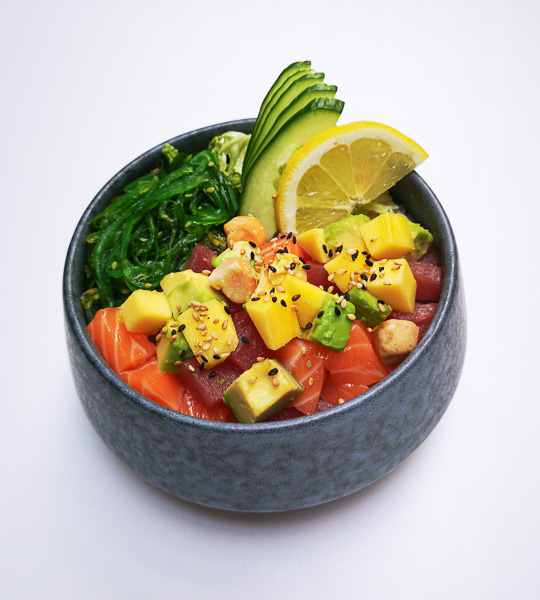 Fisch Poke, Traditional